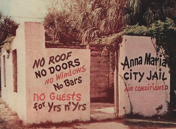 Anna Maria Island historical city jail